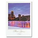 Evening Lights Card