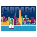 Chicago Lights Card