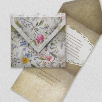 Florentine Tapestry Invitation Wedding