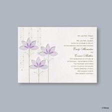 Deco Lilies Invitation - Tiana