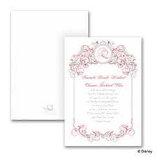 Fairy Tale Filigree - Invitation - Snow White