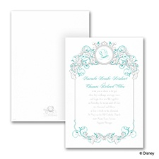 Fairy Tale Filigree - Invitation - Ariel