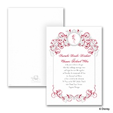 Fairy Tale Filigree - Invitation - Belle