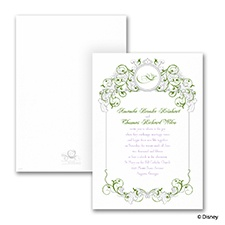 Fairy Tale Filigree - Invitation - Tiana