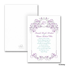 Fairy Tale Filigree - Invitation - Rapunzel
