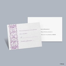 Romantic Imagination - Rapunzel Respond Card with Envelope