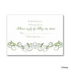 Fairy Tale Filigree Respond Card with Envelope