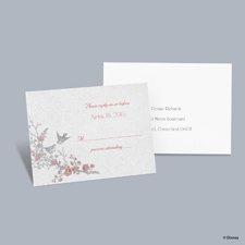 The Fairest - Snow White Respond Card with Envelope