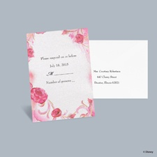 Briar Rose - Aurora Respond Card with Envelope