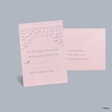 Princess Dreams - Aurora Respond Card with Envelope