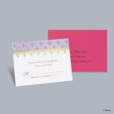 Exotic Romance - Jasmine Respond Card with Envelope