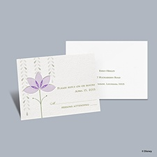 Deco Lilies - Tiana Respond Card with Envelope
