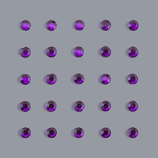 Purple Rhinestones (sheet of 25)