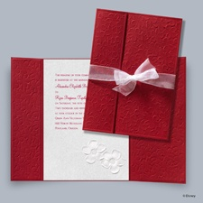 Apple Blossoms Invitation - Snow White