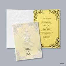 Love's Transformation Invitation - Belle