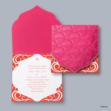 Magical Journey Invitation - Jasmine