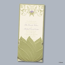 Water Lily Invitation - Tiana