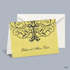 Love's Transformation - Belle Note Card and Envelope