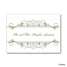 Fairy Tale Filigree Note Card and Envelope