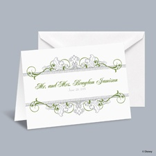 Fairy Tale Filigree Informal Note with Verse and Envelope