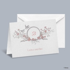 The Fairest - Snow White Informal Note with Verse and Envelope