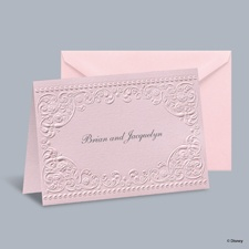 Princess Dreams - Aurora Informal Note with Verse and Envelope