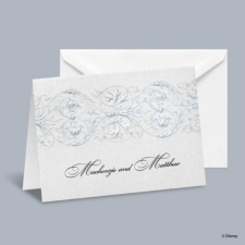 Once Upon a Time - Cinderella Informal Note with Verse and Envelope