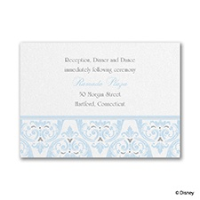 Happily Ever After - Cinderella Reception Card