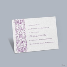 Romantic Imagination - Rapunzel Reception Card