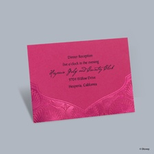 Magical Journey - Jasmine Reception Card
