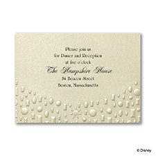 Flowing Artistry - Rapunzel Reception Card