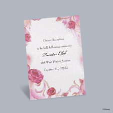 Briar Rose - Aurora Reception Card