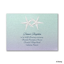 Mermaid Treasures - Ariel Reception Card