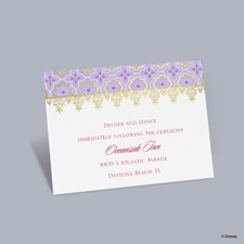 Exotic Romance - Jasmine Reception Card