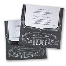 trendy wedding invitation cards