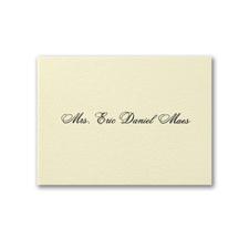 Mrs. Calling Card