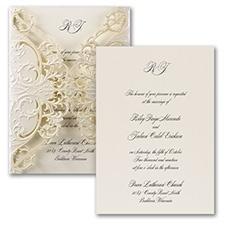 Exquisite Lace - Invitation