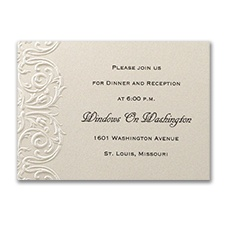 Vision of Love - Reception Card