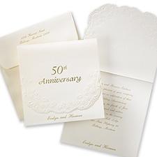 50th Anniversary - Invitation