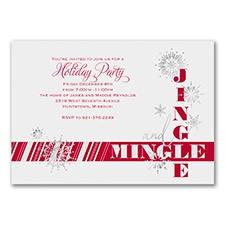 Jingle and Mingle - Invitation