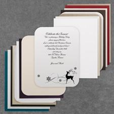 Reindeer Fun - Invitation