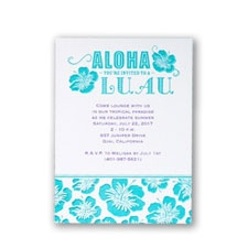 Free hawaiian luau wordings 99 party invitations polynesian party invitations card nk81873 100 for 17490 stopboris Image collections