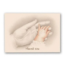 Tiny Hand to Hold - Thank You Note