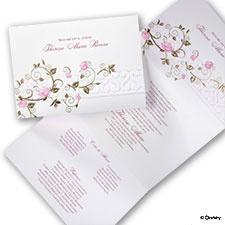 Enchanted Rose - Aurora - Invitation