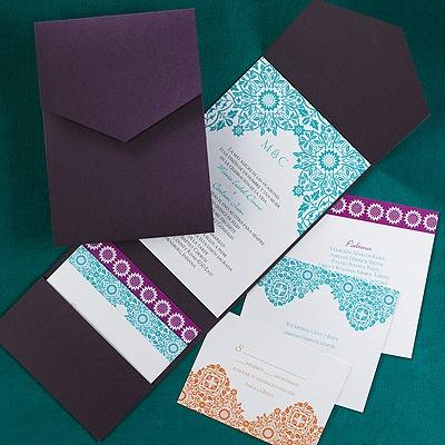 Sunflowers invitation wedding invitations carlson for Carlson craft invitations discount