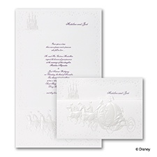 Cinderella's Carriage - Invitation