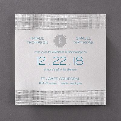 Modern Texture Invitation