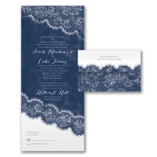 Love the Lace - Seal 'n Send Invitation