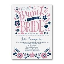 Let's Do Brunch - Bridal Shower Invitation