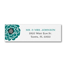 Mod Floral - Address Label